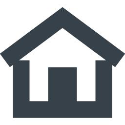 ホームマークの無料 家アイコン素材 5 商用可の無料 フリー のアイコン素材をダウンロードできるサイト Icon Rainbow