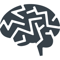脳のマークアイコン素材 1 商用可の無料 フリー のアイコン素材をダウンロードできるサイト Icon Rainbow