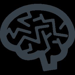 脳のマークアイコン素材 2 商用可の無料 フリー のアイコン素材をダウンロードできるサイト Icon Rainbow