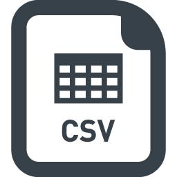 Csvファイルの無料アイコン素材 商用可の無料 フリー のアイコン素材をダウンロードできるサイト Icon Rainbow