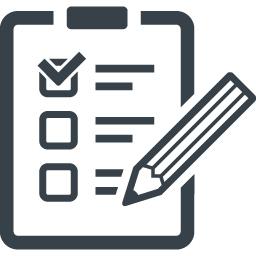 チェックシート アンケートの無料アイコン素材 1 商用可の無料 フリー のアイコン素材をダウンロードできるサイト Icon Rainbow