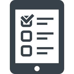スマホで簡単なアンケートの無料アイコン素材 商用可の無料 フリー のアイコン素材をダウンロードできるサイト Icon Rainbow