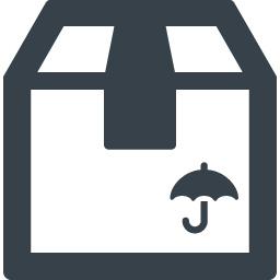 配送段ボール 水濡れ厳禁のアイコン 商用可の無料 フリー のアイコン素材をダウンロードできるサイト Icon Rainbow