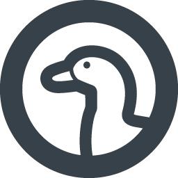 横向きのアヒルの無料アイコン素材 2 商用可の無料 フリー のアイコン素材をダウンロードできるサイト Icon Rainbow