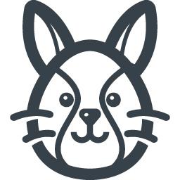 ウサギの無料アイコン素材 商用可の無料 フリー のアイコン素材をダウンロードできるサイト Icon Rainbow