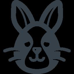 ヤミヤミのウサギの無料アイコン素材 1 商用可の無料 フリー のアイコン素材をダウンロードできるサイト Icon Rainbow