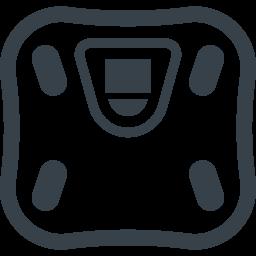 体脂肪計 体重計の無料アイコン素材 2 商用可の無料 フリー のアイコン素材をダウンロードできるサイト Icon Rainbow