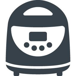 一人用の炊飯器の無料アイコン素材 2 商用可の無料 フリー のアイコン素材をダウンロードできるサイト Icon Rainbow