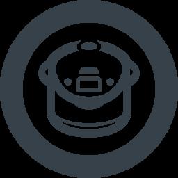 炊飯器の無料アイコン素材 5 商用可の無料 フリー のアイコン素材をダウンロードできるサイト Icon Rainbow