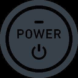 自動車のエンジンスタートボタンアイコン素材 1 商用可の無料 フリー のアイコン素材をダウンロードできるサイト Icon Rainbow