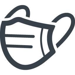 インフルエンザ対策のマスクの無料アイコン素材 2 商用可の無料 フリー のアイコン素材をダウンロードできるサイト Icon Rainbow