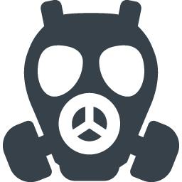 ガスマスク 防毒マスク のフリーアイコン素材 4 商用可の無料 フリー のアイコン素材をダウンロードできるサイト Icon Rainbow