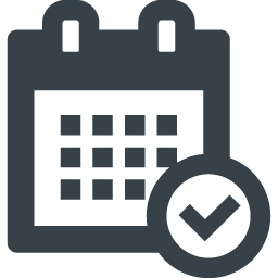スケジュール 予定 チェックの無料アイコン素材 商用可の無料 フリー のアイコン素材をダウンロードできるサイト Icon Rainbow