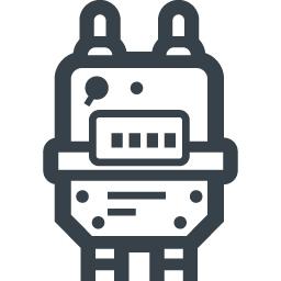 ガスメーターの無料アイコン素材 3 商用可の無料 フリー のアイコン素材をダウンロードできるサイト Icon Rainbow