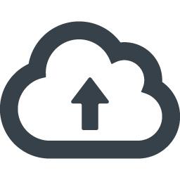 クラウドへのアップロードアイコン素材 1 商用可の無料 フリー のアイコン素材をダウンロードできるサイト Icon Rainbow
