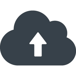 クラウドへのアップロードアイコン素材 2 商用可の無料 フリー のアイコン素材をダウンロードできるサイト Icon Rainbow