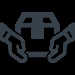 荷物の配送 お届けのアイコン素材 商用可の無料 フリー のアイコン素材をダウンロードできるサイト Icon Rainbow