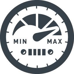 車のスピードメーターの無料アイコン 2 商用可の無料 フリー のアイコン素材をダウンロードできるサイト Icon Rainbow
