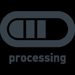 コンピューターの処理中のアイコン素材 商用可の無料 フリー のアイコン素材をダウンロードできるサイト Icon Rainbow