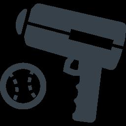 スピードガンとボールの無料アイコン素材 商用可の無料 フリー のアイコン素材をダウンロードできるサイト Icon Rainbow