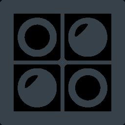 オセロの無料アイコン素材 1 商用可の無料 フリー のアイコン素材をダウンロードできるサイト Icon Rainbow