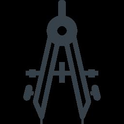 文房具 コンパスの無料アイコン素材 1 商用可の無料 フリー のアイコン素材をダウンロードできるサイト Icon Rainbow