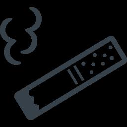 タバコの喫煙の無料アイコン素材 1 商用可の無料 フリー のアイコン素材をダウンロードできるサイト Icon Rainbow