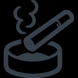 タバコと灰皿の無料アイコン素材 4 商用可の無料 フリー のアイコン素材をダウンロードできるサイト Icon Rainbow