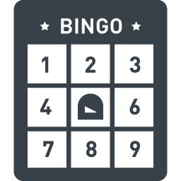 ビンゴ大会のカード シートの無料アイコン素材 3 商用可の無料 フリー のアイコン素材をダウンロードできるサイト Icon Rainbow