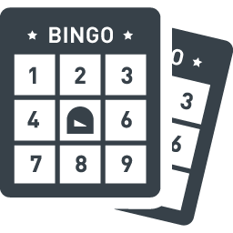 ビンゴ大会のカード シートの無料アイコン素材 4 商用可の無料 フリー のアイコン素材をダウンロードできるサイト Icon Rainbow