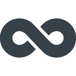 無限 インフィニティー マークのフリーアイコン 1 商用可の無料 フリー のアイコン素材をダウンロードできるサイト Icon Rainbow