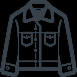 デニムジャケット ジージャン の無料アイコン素材 1 商用可の無料 フリー のアイコン素材をダウンロードできるサイト Icon Rainbow