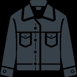 デニムジャケット ジージャン の無料アイコン素材 2 商用可の無料 フリー のアイコン素材をダウンロードできるサイト Icon Rainbow