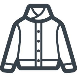 襟付きのアウタージャケット素材 商用可の無料 フリー のアイコン素材をダウンロードできるサイト Icon Rainbow