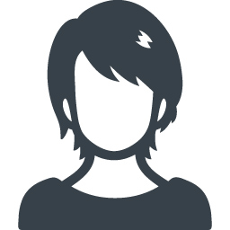 落ち着いたお姉さん風の女性の無料アイコン素材 商用可の無料 フリー のアイコン素材をダウンロードできるサイト Icon Rainbow