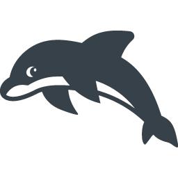 イルカの無料アイコン素材 4 商用可の無料 フリー のアイコン素材をダウンロードできるサイト Icon Rainbow
