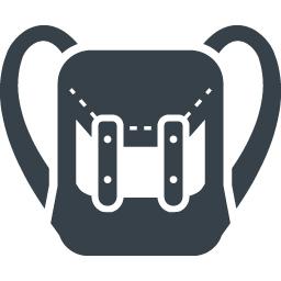 おしゃれな雰囲気のリュックサックの無料アイコン素材 商用可の無料 フリー のアイコン素材をダウンロードできるサイト Icon Rainbow