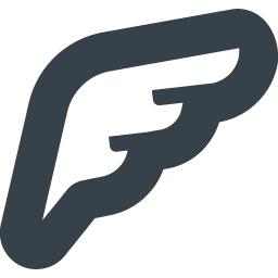 翼 羽根の無料アイコン素材 1 商用可の無料 フリー のアイコン素材をダウンロードできるサイト Icon Rainbow