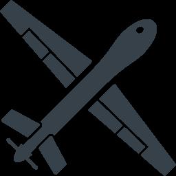 無人偵察用のドローンの無料アイコン素材 2 商用可の無料 フリー のアイコン素材をダウンロードできるサイト Icon Rainbow