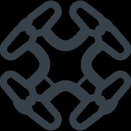 ドローンの無料アイコン素材 1 商用可の無料 フリー のアイコン素材をダウンロードできるサイト Icon Rainbow