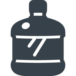 ウォーターサーバー用のウォーターボトルの無料アイコン素材 5 商用可の無料 フリー のアイコン素材をダウンロードできるサイト Icon Rainbow
