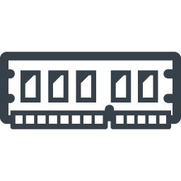 パソコンのメモリの無料アイコン素材 2 商用可の無料 フリー のアイコン素材をダウンロードできるサイト Icon Rainbow