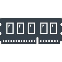 パソコンのメモリの無料アイコン素材 3 商用可の無料 フリー のアイコン素材をダウンロードできるサイト Icon Rainbow