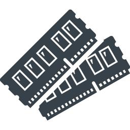 パソコンのメモリの無料アイコン素材 4 商用可の無料 フリー のアイコン素材をダウンロードできるサイト Icon Rainbow