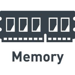 パソコンのメモリの無料アイコン素材 5 商用可の無料 フリー のアイコン素材をダウンロードできるサイト Icon Rainbow