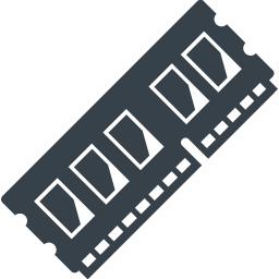 パソコンのメモリの無料アイコン素材 6 商用可の無料 フリー のアイコン素材をダウンロードできるサイト Icon Rainbow