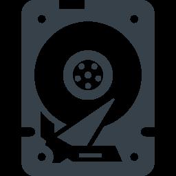 パソコンのhddドライブの無料アイコン素材 2 商用可の無料 フリー のアイコン素材をダウンロードできるサイト Icon Rainbow