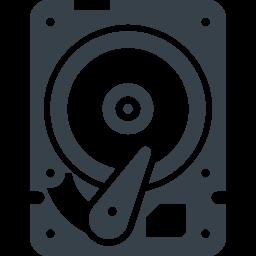 パソコンのhddドライブの無料アイコン素材 4 商用可の無料 フリー のアイコン素材をダウンロードできるサイト Icon Rainbow