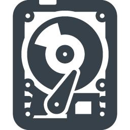 パソコンのhddドライブの無料アイコン素材 5 商用可の無料 フリー のアイコン素材をダウンロードできるサイト Icon Rainbow