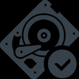 Hddドライブの診断 検査の無料アイコン素材 1 商用可の無料 フリー のアイコン素材をダウンロードできるサイト Icon Rainbow